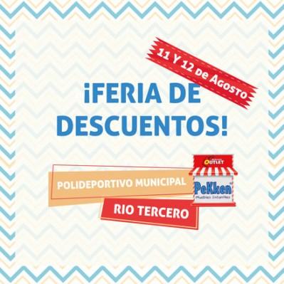 En Pekken Rio Tercero anticipamos el dia del miño 11 y 12 de Agosto