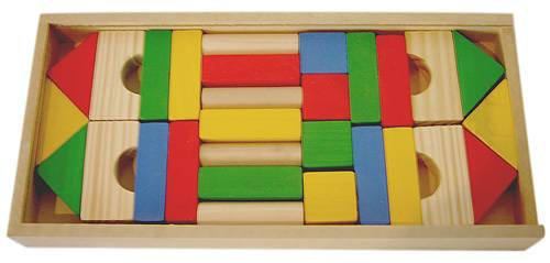 Bloques en Caja con 29 Unidades